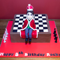 The Chess King Modelling Chocolate And Gumpaste Figure White Mud Cake White Chocolate Ganache And Fondant The Chess KingModelling chocolate and gumpaste figure.White mud cake, white chocolate ganache and fondant
