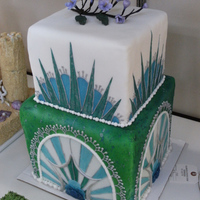 Art Deco-Ish... This is one of my most favorite cakes.
