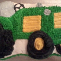 Tractor Pan Cake