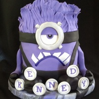Despicable Me Evil Minion Cake