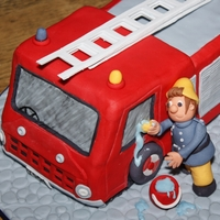 Fireman Sam Made from a Debbie Brown book - the woman's a genius!