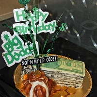 Show Me The Money! For our District Manager. A $$ Cake :)