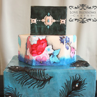 Fashion Cake Inspired By Nanette Lepore