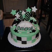Checkers 15Th Birthday Cake