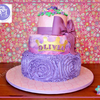 Princess Olivia's 1St Birthday I had the pleasure of doing an Icing Smiles cake this weekend. It was a short notice (the original baker was in the hospital), found out...
