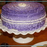 Purple Ombre Ruffles - Church Welcome Lunch