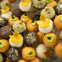 Thanksgiving Cake Pops Fall Themed.   Assorted fall themed cake pops