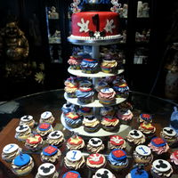 Mickey Mouse Tower Cake