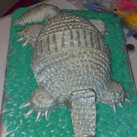 Bleeding Armadillo Cake Bleeding Armadillo Cake