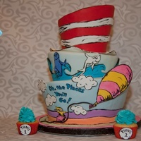 Topsy Turvy Seuss Inspired Cake For My Nephews 3Rd Birthday I Love A Cake Where I Can Throw The Budget Out The Window Lol All Elements A Topsy Turvy Seuss inspired cake for my nephew's 3rd birthday! I love a cake where I can throw the budget out the window lol All...
