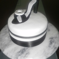 High Heel Shoe Cake Made for my Mum's Birthday. Only my second fondant cake, first ever shoe made out of fondant from a template on CC! Didn't have...