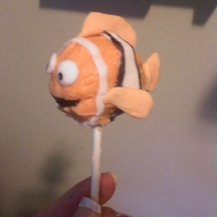 Finding Nemo Cake Pops   Nemo Cake Pops for nieces birthday party