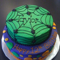 Halloween Birthday 12 year old birthday girl wanted a holloween themes birthday cake. Here it is! Thanks to CC users for the inspiration