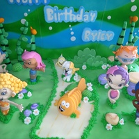 Bubble Guppies   Bubble Guppies birthday cake for a 3 year old