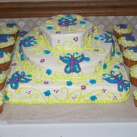 Butterfly's I made this for my grandma's birthday she loves butterfly's