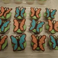 My First Pic Uploaded To Cake Central The Butterflies Are Made From Wilton Melting Chocolates Thanks For Looking *My first pic uploaded to Cake Central. The butterflies are made from Wilton melting chocolates. Thanks for looking!