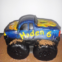 Monster Truck Truck is cake. Tires are RKT. Covered in MMF and painted.