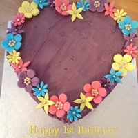 1St Birthday Cake Buttercream Cake