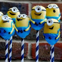 Minions Cake Pops From The Film, 'despicable Me'   *