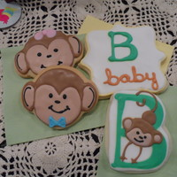 "Baby Shower Cookies For Baby Bazooka Baby Shower cookies for Baby ""Bazooka""!"