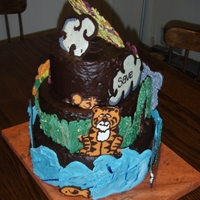 Chocolate Ganache Save The Planet Cake