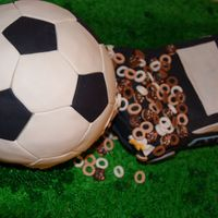 Police Car Crashes Into Donut Filled Soccer Ball