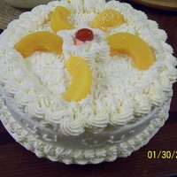 Peaches N Cream Cake