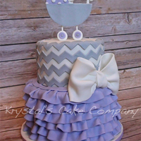 Lavender And Chevron