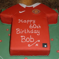 Manchester United Football (Soccer) Cake For a keen Man U fan...