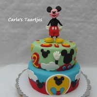 Micky Mousse for a little boy ,Micky Mouse cake