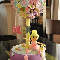 Lalaloopsy Easter Cake I have been dying to make a Lalaloopsy cake for a while now. So, for my daughter's birthday celebration which was Easter Sunday, I...