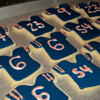 Chicago Bears Cookies