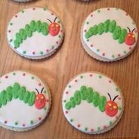 Very Hungry Caterpillar Cookies To Match A Very Hungry Caterpillar Cake   Very Hungry Caterpillar cookies to match a Very Hungry Caterpillar cake.