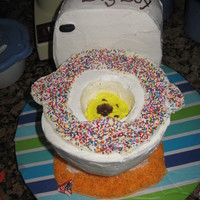 Potty Cake Made For My Son I Told Him That Once He Was Fully Potty Trained I Would Make Him A Potty Cake To Celebrate Im All About Brib Potty cake made for my son - I told him that once he was fully potty trained I would make him a potty cake to celebrate. I'm all about...