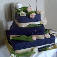 Wedding Cake Faux Cake. 16-12-6