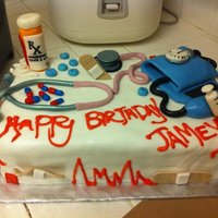 Nurse Cake Everything made out of 50gump/50fond