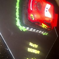 My First Car Cake Very Satisfied with the way this turned out.