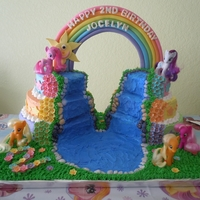 My Little Pony Birthday Cake I made this cake for my daughters 2nd birthday. She loves ponies.