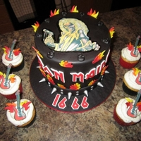 Heavy Metal Iron Maiden Cake