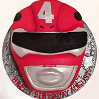 Red Power Ranger Red Power Ranger Cake