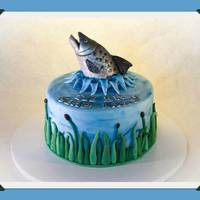 Cake For A Salmon Fisherman! *