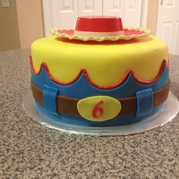 Jessie Toy Story Birthday My daughter's 6th birthday cake! She had a Jessie from Toy Story themed birthday party.