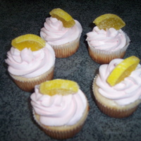 Pink Lemonaide Cupcakes Pink Lemonaide cupcakes with Pink Lemonaide frosting.