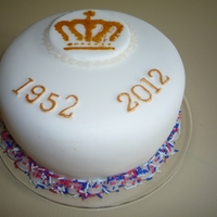 Diamond Jubilee Red Velvet Cake