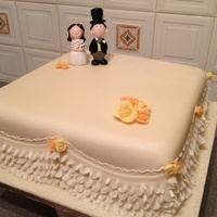 Frill Wedding Cake