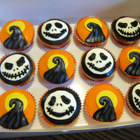 Nightmare Before Christmas Cupcakes Nightmare Before Christmas cupcakes for my boys' preschool classrooms. Made five dozen, but had to cut myself off with only two...