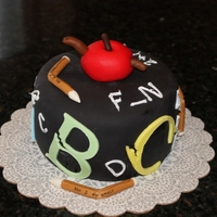 School's Out Cake