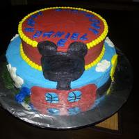 Mickey Mouse Cake *Mickey Mouse cake