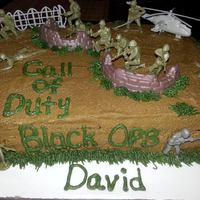 Call Of Duty Black Ops Cake *Call of Duty (Black Ops) Cake