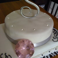 Engagement Ring Shower Cake!